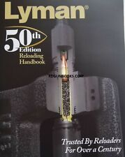 Lyman Reloading Handbook 50th Gun book Shooting Hunting loads NEW EDITION tools