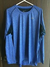 WRM Performance Base Layer WIcked 10 to 25 F Cold Mens Crew Neck Blue golf XL