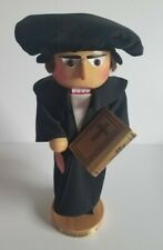 """Martin Luther Nutcracker """" 6413"""" vintage Steinbach 16"""" wooden"""