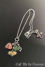 Brighton Portobello enamel Heart charm necklace
