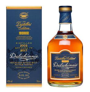 Dalwhinnie Distillers Edition 2017 limitiert 2002-2017 D.S.Y.313  0,7L 43% vol.