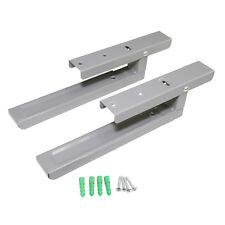 2 x Microwave Wall Mounting Extendable Arm Support Bracket For Russell Hobbs