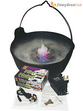 Grand bouillonnant sorcières chaudron mist light up halloween party décoration prop