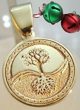 Anhänger Keltisch Lebensbaum Celtic Tree of life Amulett Gold 14 karat 585