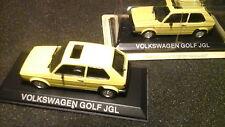 Ixo VOLKSWAGEN GOLF 1 JGL 1:43 Giallo VW Golf I