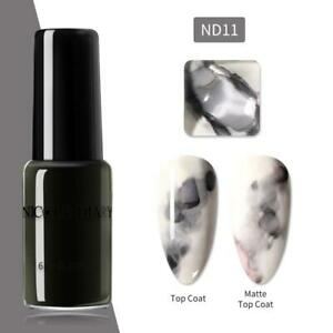 NICOLE DIARY Gradient Ink Blooming Nail Polish Marble Nail Art Varnish Gel 6ml