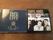 Simple Minds [7 CD] Once Upon a Time + Street Fighting Years + Live In The City