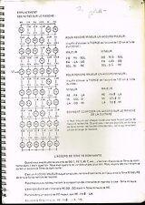 partition musicale: cahier personnel de travail pour basse-batterie 40 pages