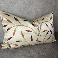 Beautiful Cushion Cover Designer John Lewis Christine Fabric Embroidered Design