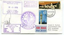 1976 Department of Transport Weather Office Gough Polar Antarctic Cover SIGNED