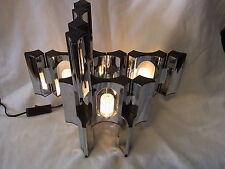 Mid Century 70er Tisch Lampe Licht Objekt Steck System 6 Teile #<1