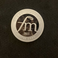 (1)  2021 FIRST MAJESTIC HALF 1/2 TROY OUNCE .999 FINE SILVER ROUND USA SELLER
