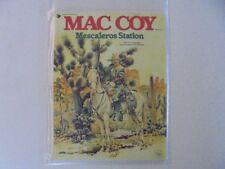 Mac Coy n. 15 Mescaleros stazione Delta Editrice IMBUSTATO & geboardet z.1-2