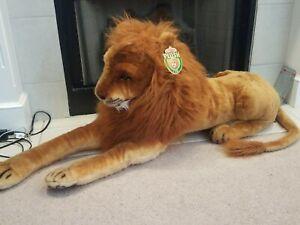 Melissa Doug Plush Toy Animal Large Stuffed Lion Lifelike Soft * NEW NWT RARE