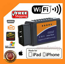 ELM327 WiFi OBD2 OBDII Car Diagnostic Scanner Code Reader Tool for iOS&AndroidAD