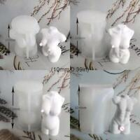 3D Goddess Body Shape Silicone Mold Sexy Model Body Stand Ornaments Resin Molds
