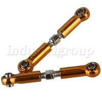 2PCS Aluminum Servo Link Linkage Pull Rod for WL RC1/18 Truck Off Road Car