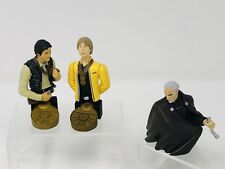 Star Wars Bust Ups Lot Of 3 Han Luke Dooku Mini Busts Gentle Giant 2004