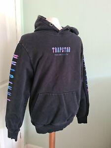 Trapstar Men's Black Hoodie Size M