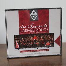 LES CHOEURS DE L'ARMEE ROUGE Plaine, ma plaine - 2CD – EMI 1992 – 2534252
