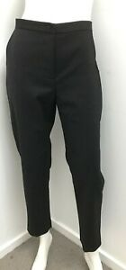 New! LAIKA by DOGSTAR black high waist lined tapered Pants ~ sz 12