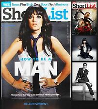 """LILY ALLEN GUEST EDITOR """"HOW TO BE A MAN"""" VICKY MCCLURE SHORTLIST MAGAZINE 2014"""