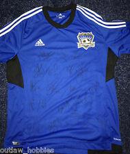 2013 San Jose Earthquakes Team Signed Autographed MLS Soccer Replica Jersey COA