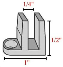 Mini Clips for Mounting Stained Glass in Window DGC-3