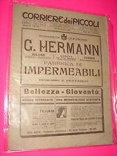 CORRIERE DEI PICCOLI anno 1910 n. 39 con sovracopertina pubblicitaria