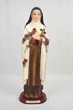 St. Saint Therese - The Little Flower - Statue/Figurine (32cm, Polyresin)