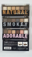 NYX The Natural TNSO1 - Smokey TSS01 - Adorable TASO1 Eye Shadow Palette U Pick