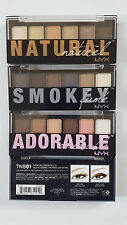 """""""NYX Cosmetics The Natural Shadow Palette, 0.21 Ounce"""""""