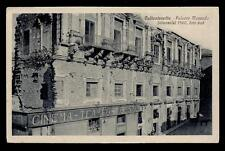 CALTANISSETTA palazzo moncada (mensole), lato sud; cinema trieste