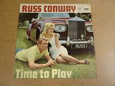 LP WITH ROLLS ROYCE CAR COVER / RUSS CONWAY - TIME TO PLAY