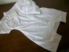 French Connection White Cotton 2 piece Romper & Hat Set, Age 3-6 Months, BNWT