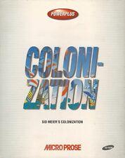 Sid Meier's colonization (PC, 1994, Scatola Box) rarità in buone condizioni