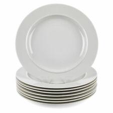 Alessi COMBO-3348 La Bella Tavola Porcelain Dinner Plates, 27 cm, Set of 12