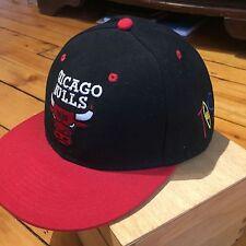 Vintage Chicago Bulls Tisa Snapback Ti$A Jordan Red Black Pippen Rodman NBA