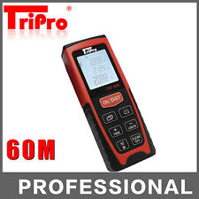 60m Digital Laser Distance Meter Measurer Area Volume Range Finder Measure