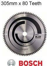 Bosch 305mm x 30mm x 80 Teeth Multi Material Circular Saw Blade 2608640452