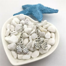 Mitten Earrings Tibet silver Charms Earrings Charm Earrings for Her