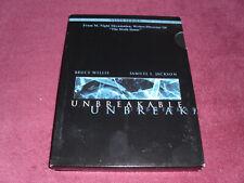 Unbreakable Dvd (2 Disc Set)-Bruce Willis/Samuel L. Jackson