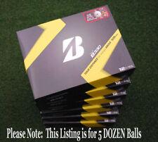 """Bridgestone Golf Tour B330 """"B Mark"""" Golf Balls 5 Five Dozen Packs B-330 - NEW"""