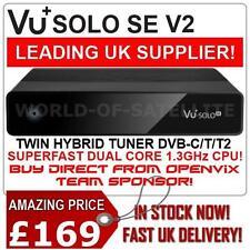 Vu+ Solo SE v2 Twin Hybrid DVB-C/T2 Linux HD PVR Ready Digtal Receiver