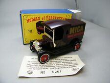 Matchbox MoY C2 Y-12 Ford T Hershey Chocolate MICA 1997 OVP Bilder K04