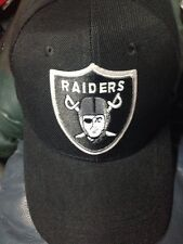Oakland Raiders Black Hat Football Cap  New Adjustable RAIDER NATION