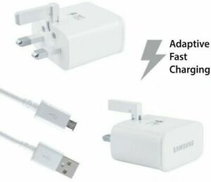 """SAMSUNG FAST CHARGER PLUG OR MICRO USB CABLE FOR GALAXY TAB A6 10.1"""""""