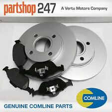 FORD FIESTA 2002-2007 MK6 1.25 1.4 1.6 ZETEC FRONT 2 COATED BRAKE DISCS AND PADS