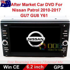"6.2"" Car DVD GPS Navigation Head Unit Stereo For Nissan Patrol 2010-2017"