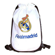 REAL MADRID FC CREST NEW GYM PE SCHOOL SWIMMING SHOE BAG SPORT XMAS GIFT